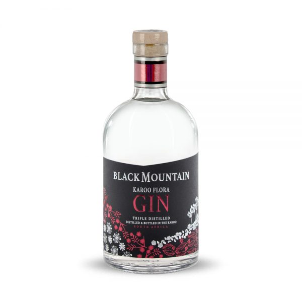Black Mountain Flora gin is a blend of 13 botanicals and is produced in South Africa's Western Cape.