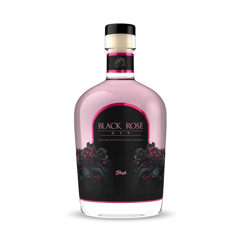 Black Rose Blush gin is infused with pomegranates and produced in South Africa's Western Cape.