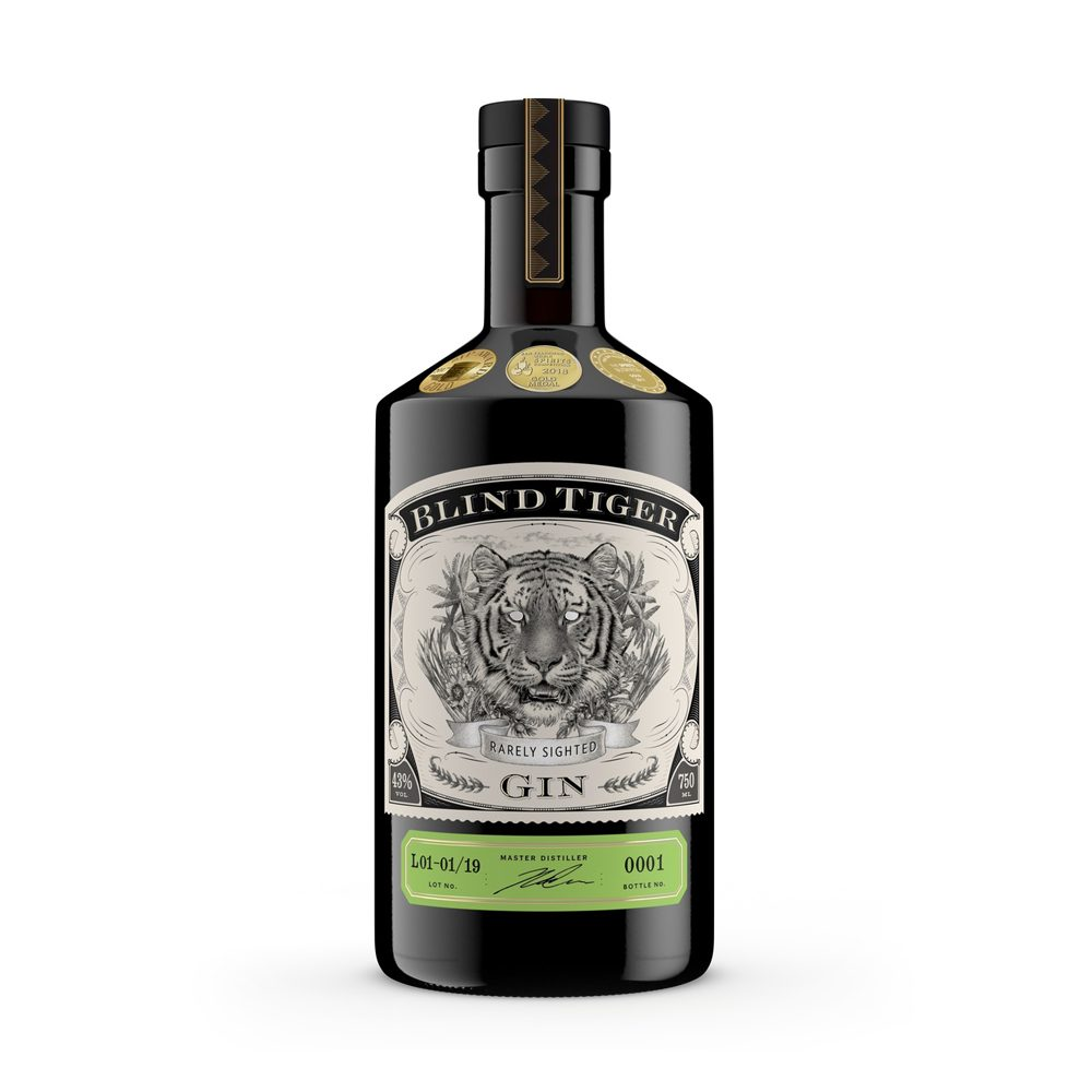 Blind Tiger gin is produced in Kwa-Zulu Natal in South Africa and is a classic Plymouth style gin.