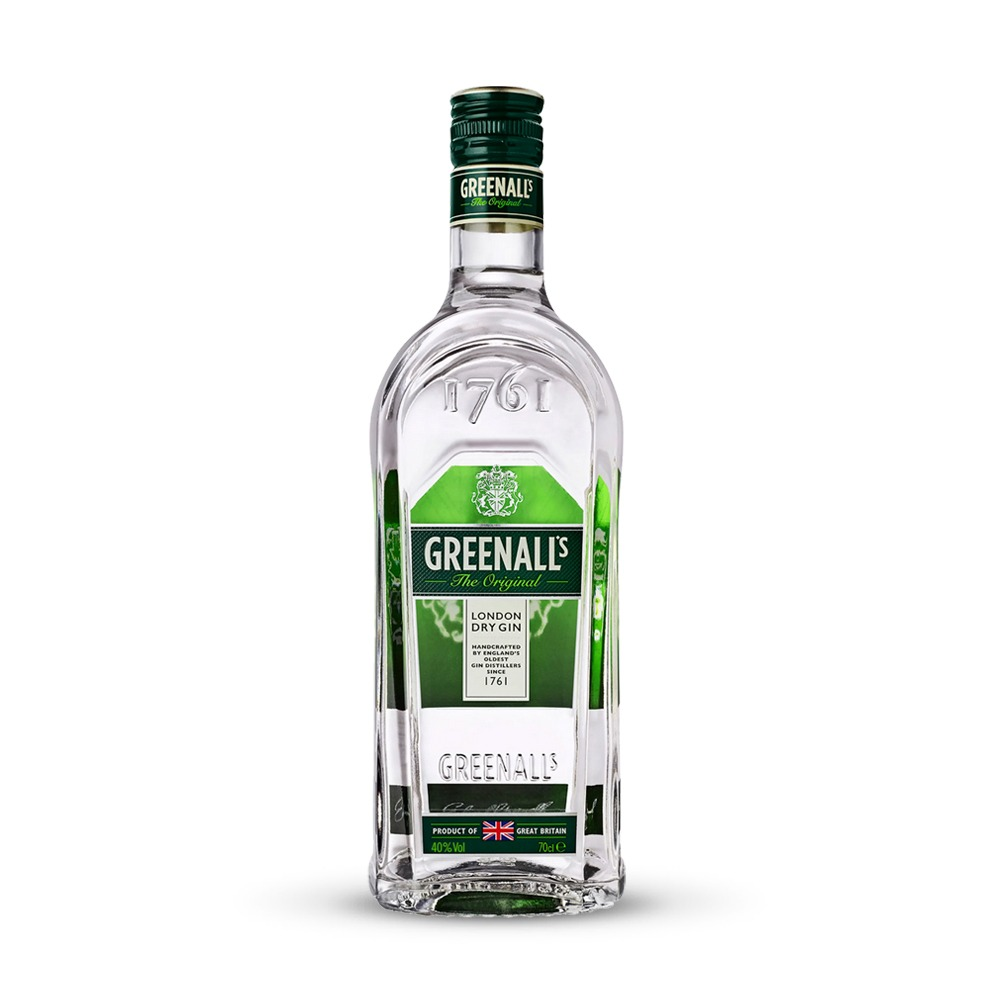 Greenall's Original gin is a secret blend of 8 botanicals produced in England.