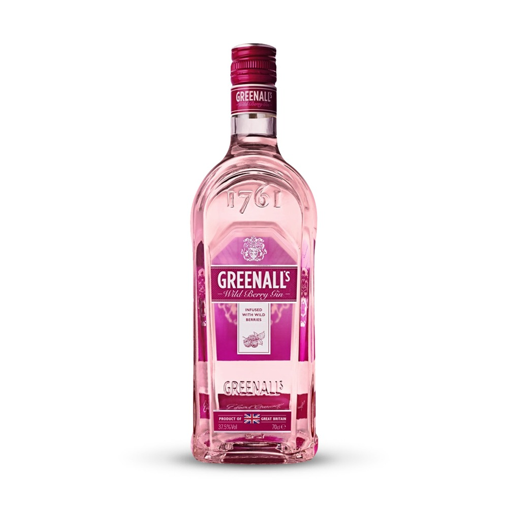 Greenall's Wild Berry gin is infused with blueberries and raspberries and produced in England.