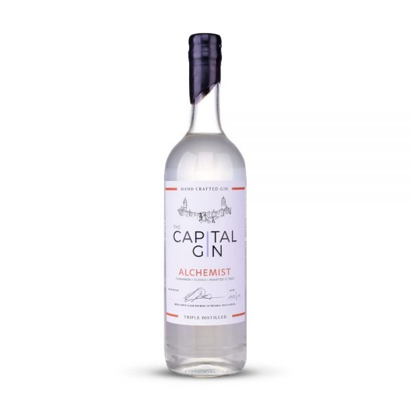 Captial Alchemist gin is a spicy infusion produced in Gauteng, South Africa.