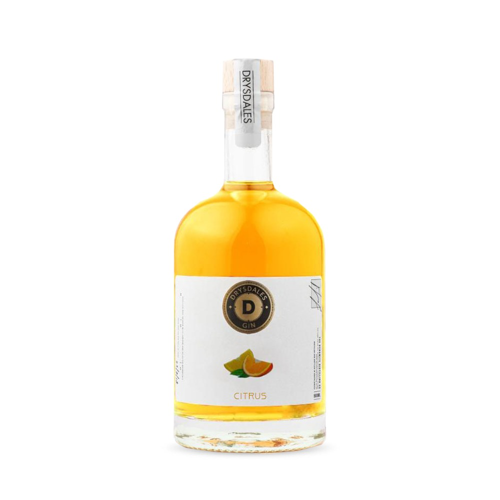 Drysdales Citrus Dry Gin is produced in South Africa with a zesty citrus infusion.