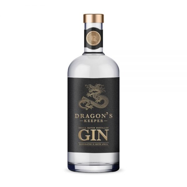 DRAGON'S KEEPER GIN combines Eastern and African flavours and is produced in Gauteng.