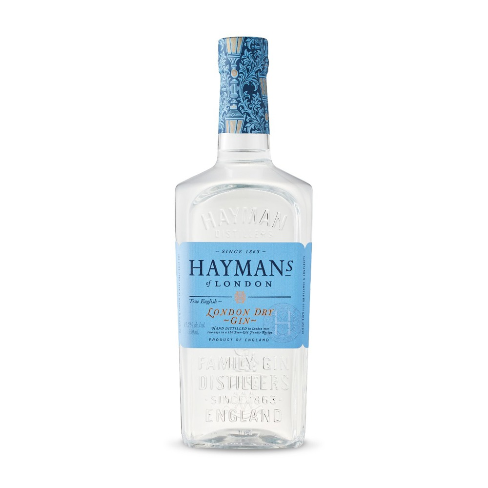 Hayman's London Dry gin is produced in England according to traditional distilling processes.