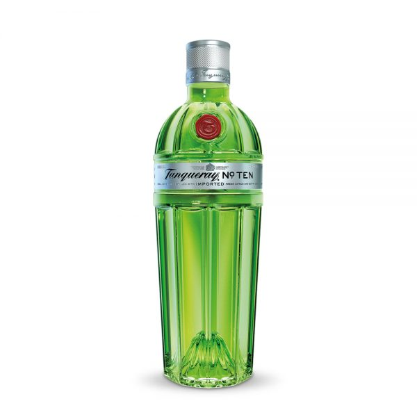 Tanqueray No. Ten gin is a London Dry gin produced in Scotland
