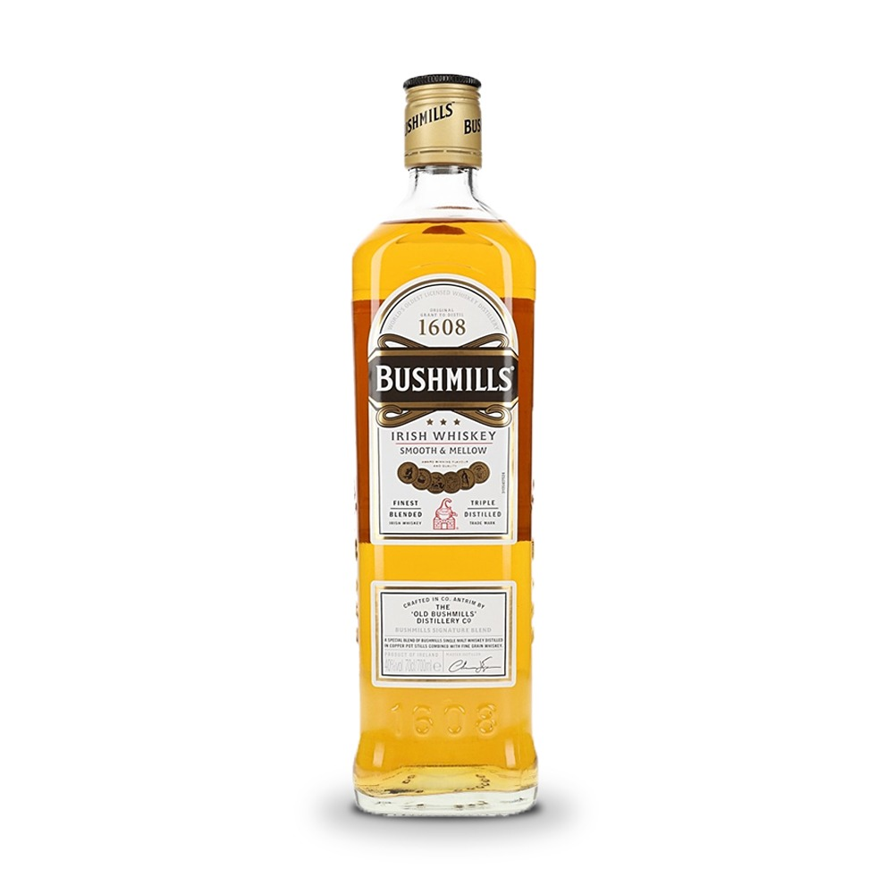Bushmills Original Blended Irish Whiskey is produced in Ireland.