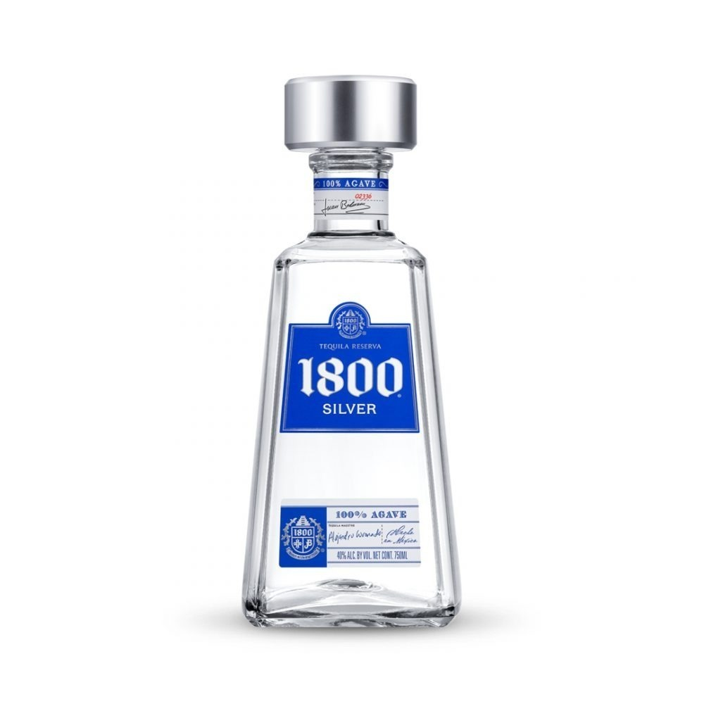 1800 Tequila Silver is produced in Mexico.