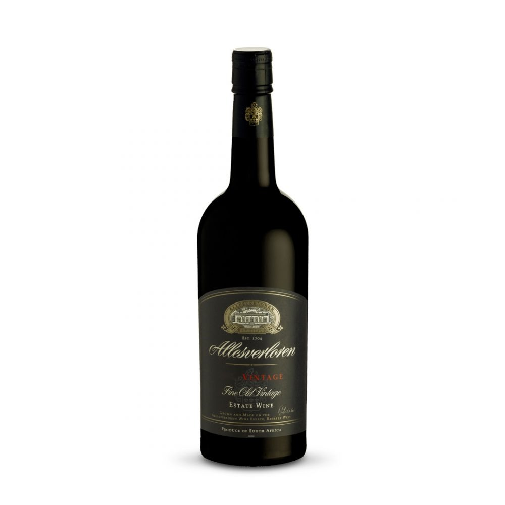 Allesverloren Fine Old Vintage is produced in South Africa.