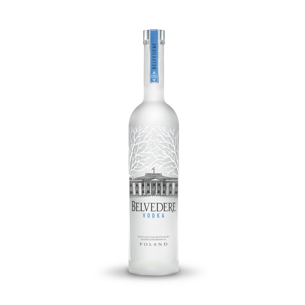 Belvedere vodka is produced in Poland.