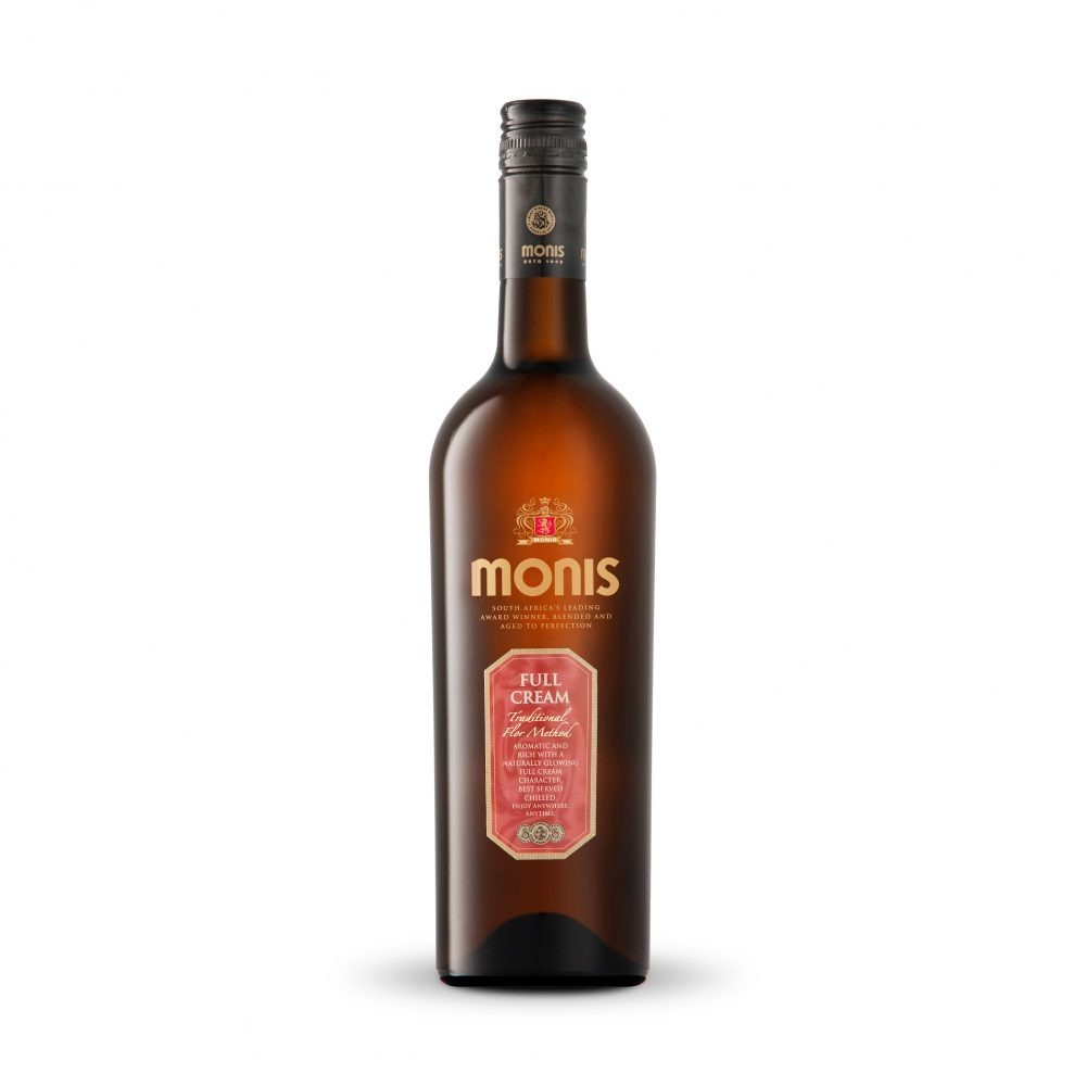 Monis Full Cream Sherry is produced in South Africa.