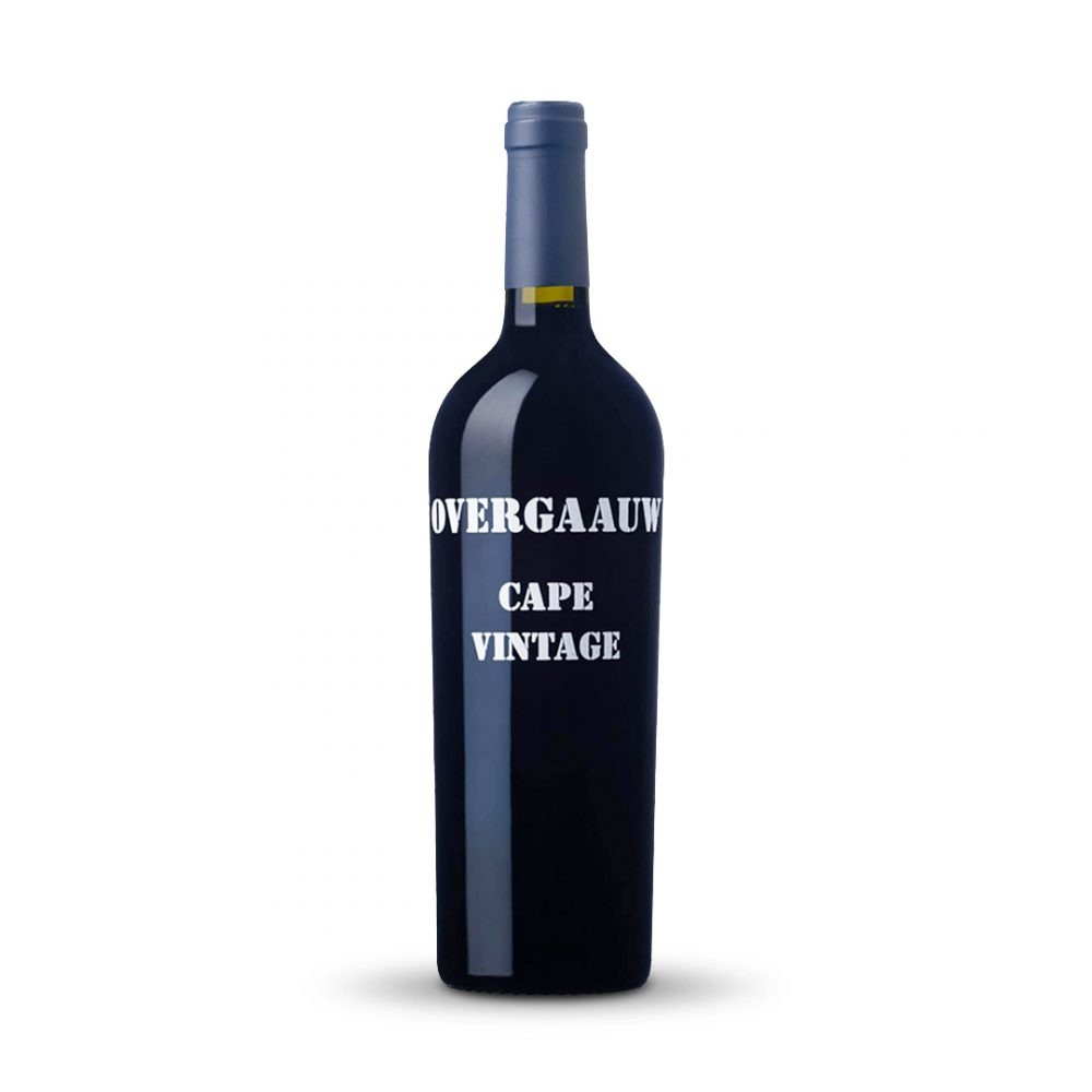 Overgaauw Cape Vintage Port is produced in South Africa.