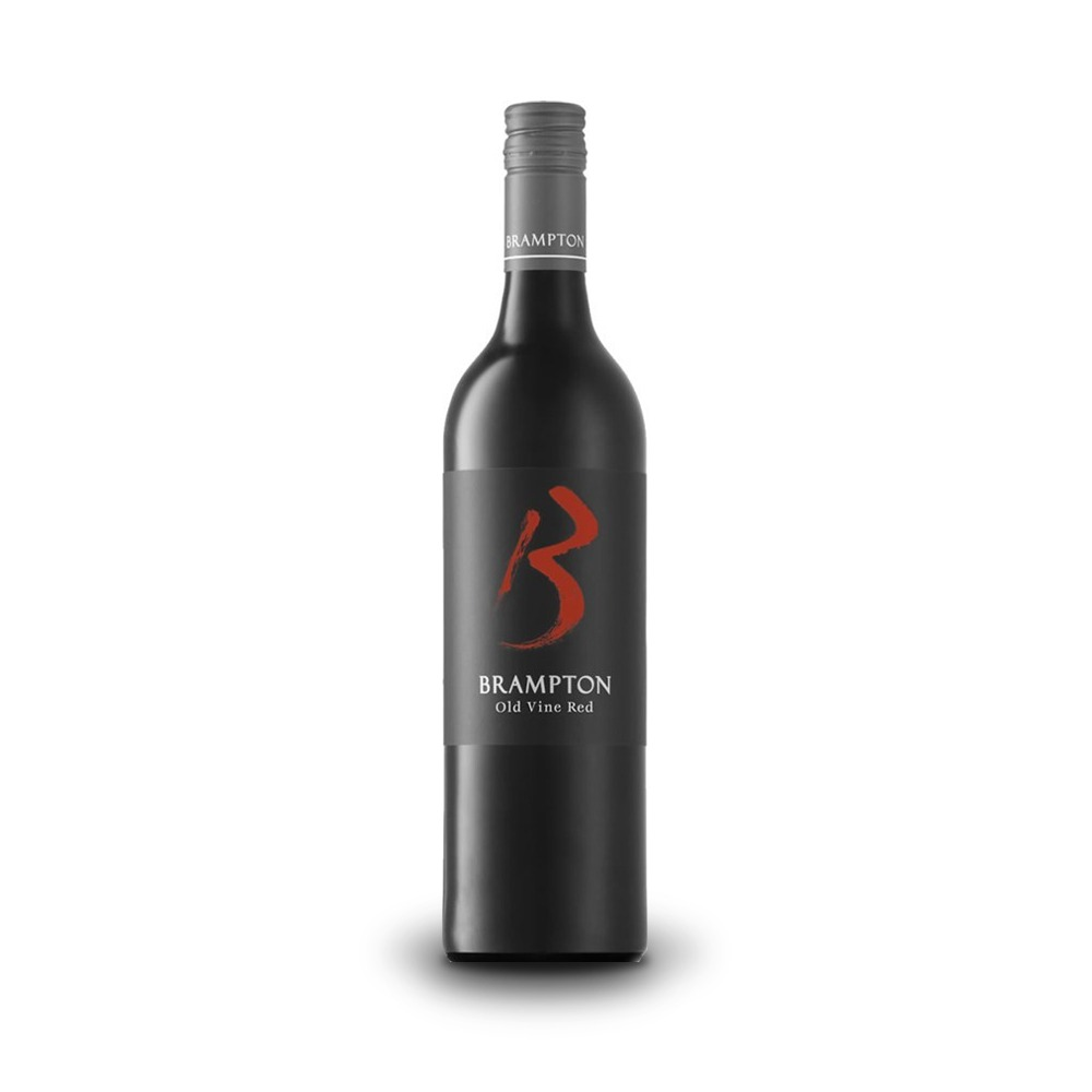 Brampton Old Vine Red is produced in South Africa.
