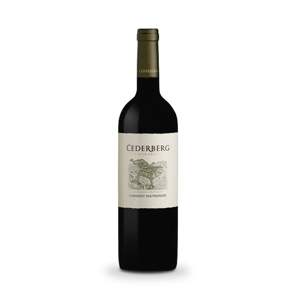 Cedarberg Cabernet Sauvignon is produced in South Africa.