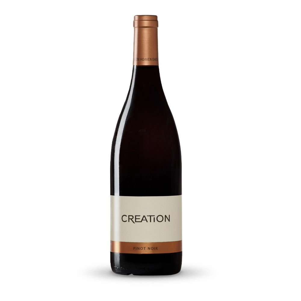 Creation Pinot Noir is produced in South Africa.