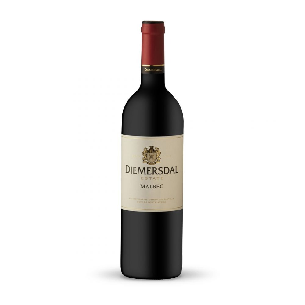 Diemersdal Malbec is produced in South Africa.
