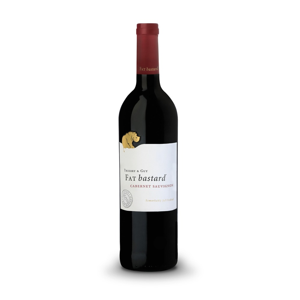 Fat Bastard Cabernet Sauvignon is produced in South Africa.