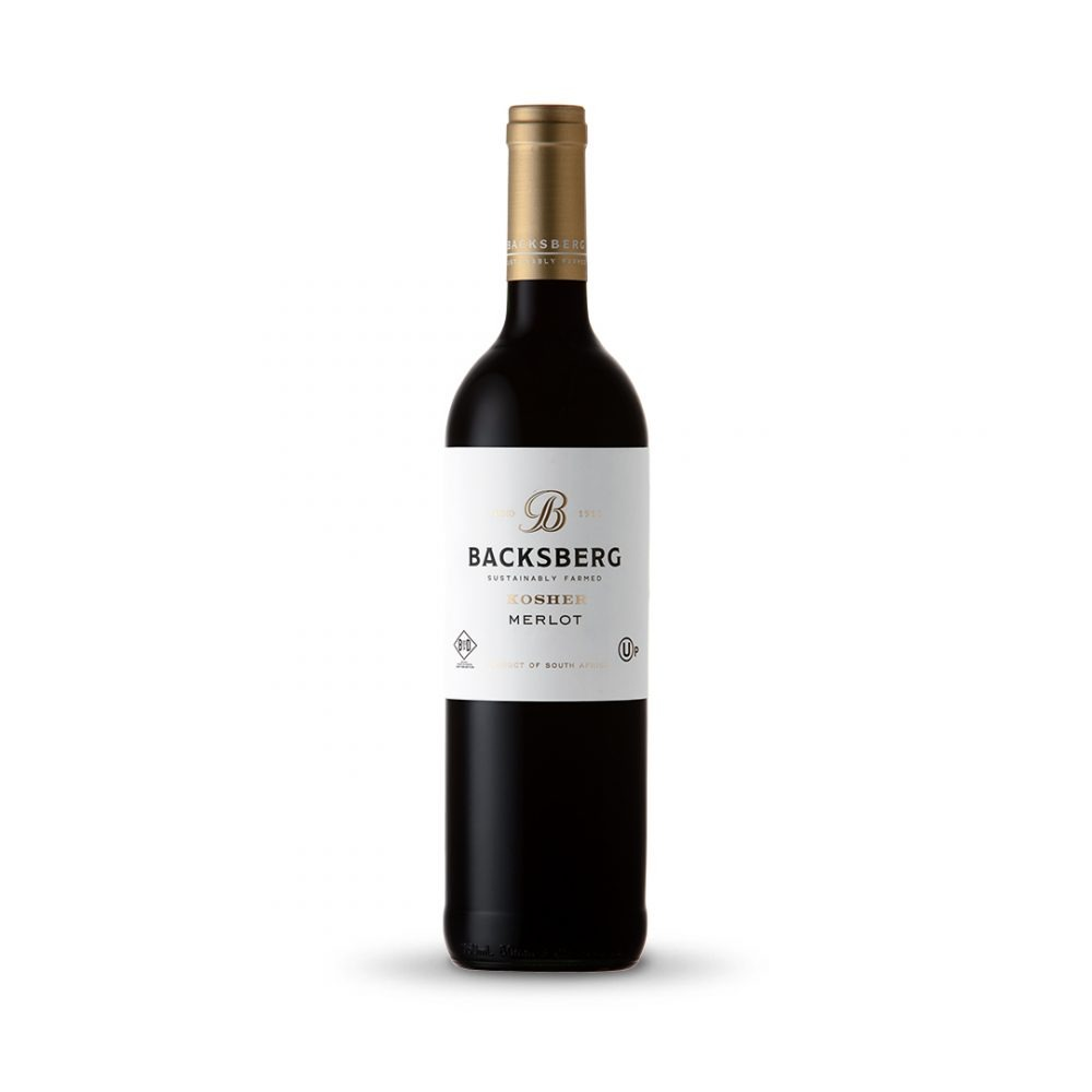 Backsberg Merlot is produced in South Africa.