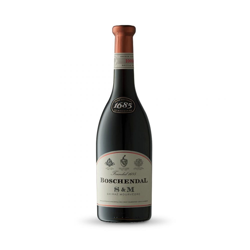 Boschendal 1685 Merlot is produced in South Africa.