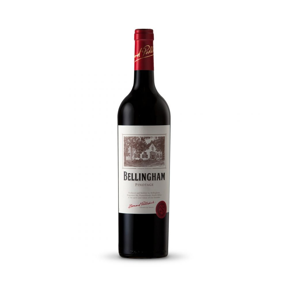 Bellingham Homestead Pinotage is produced in South Africa.