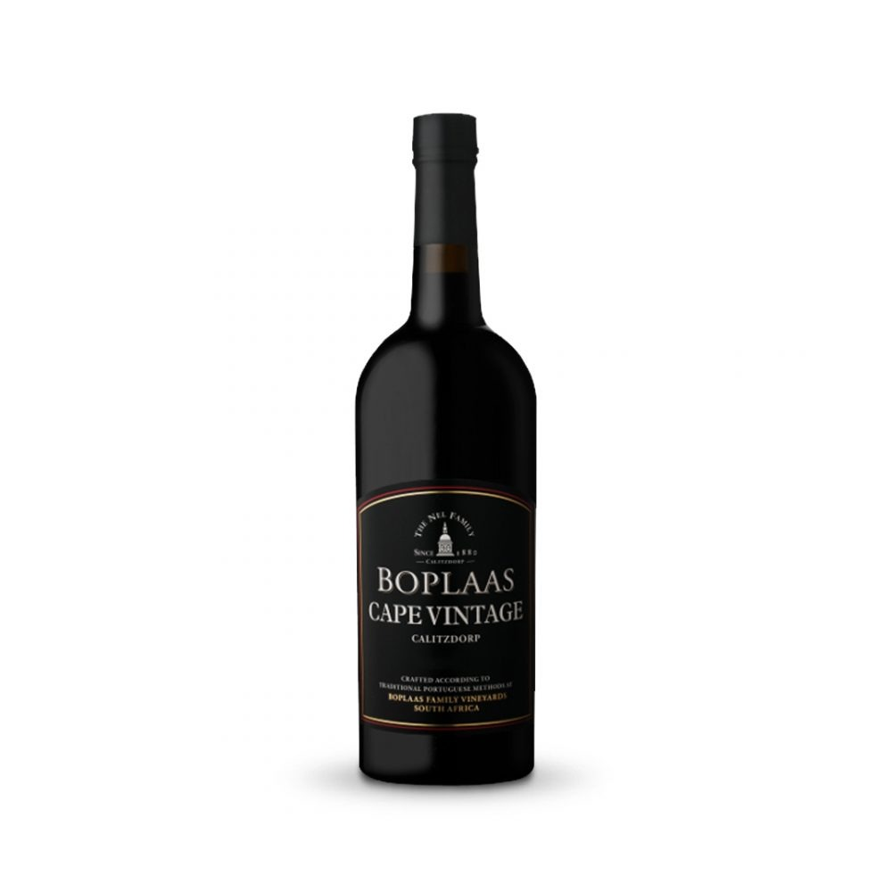 Boplaas Cape Vintage Port is produced in South Africa.