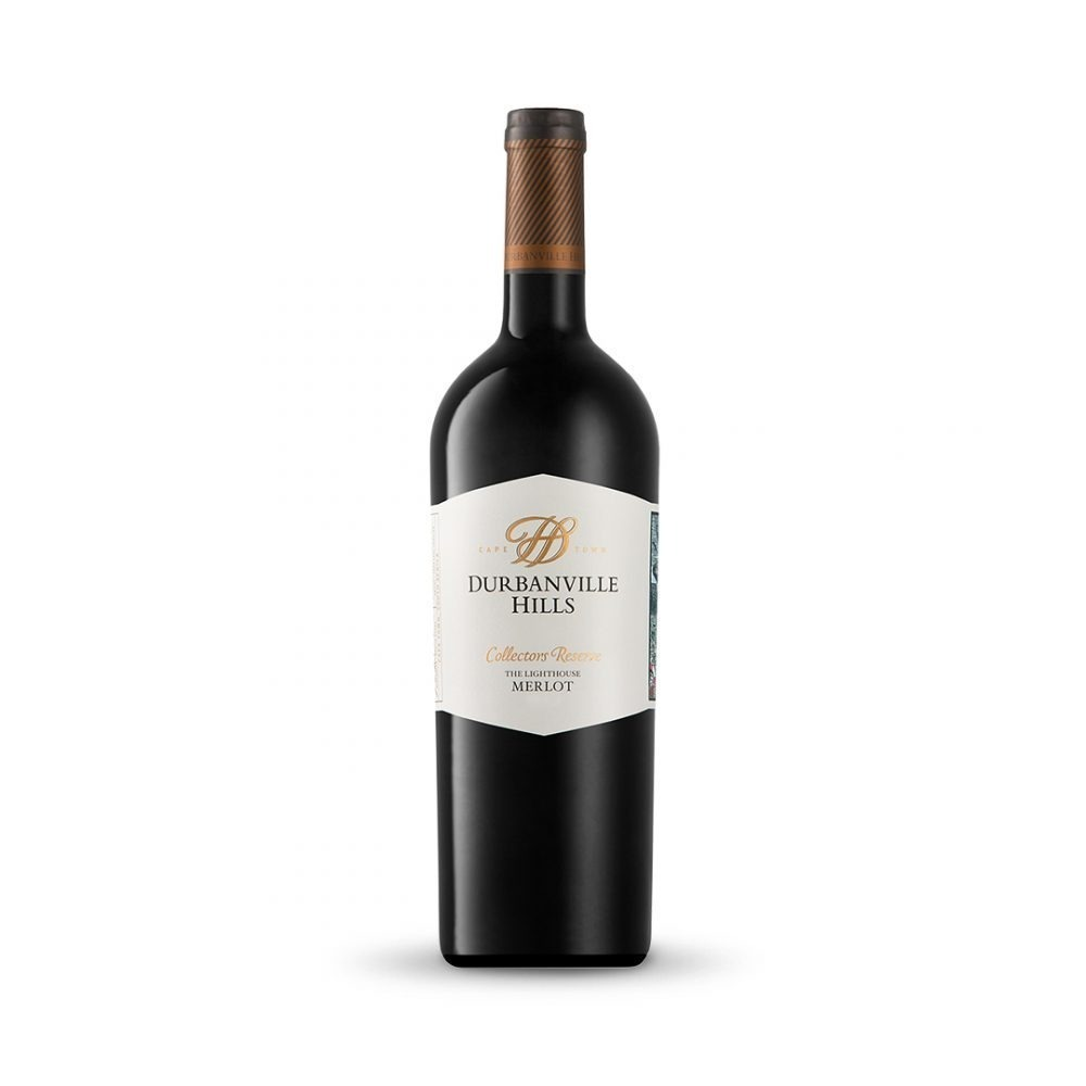 Durbanville Hills Collectors Reserve The Lighthouse Merlot is produced in South Africa.