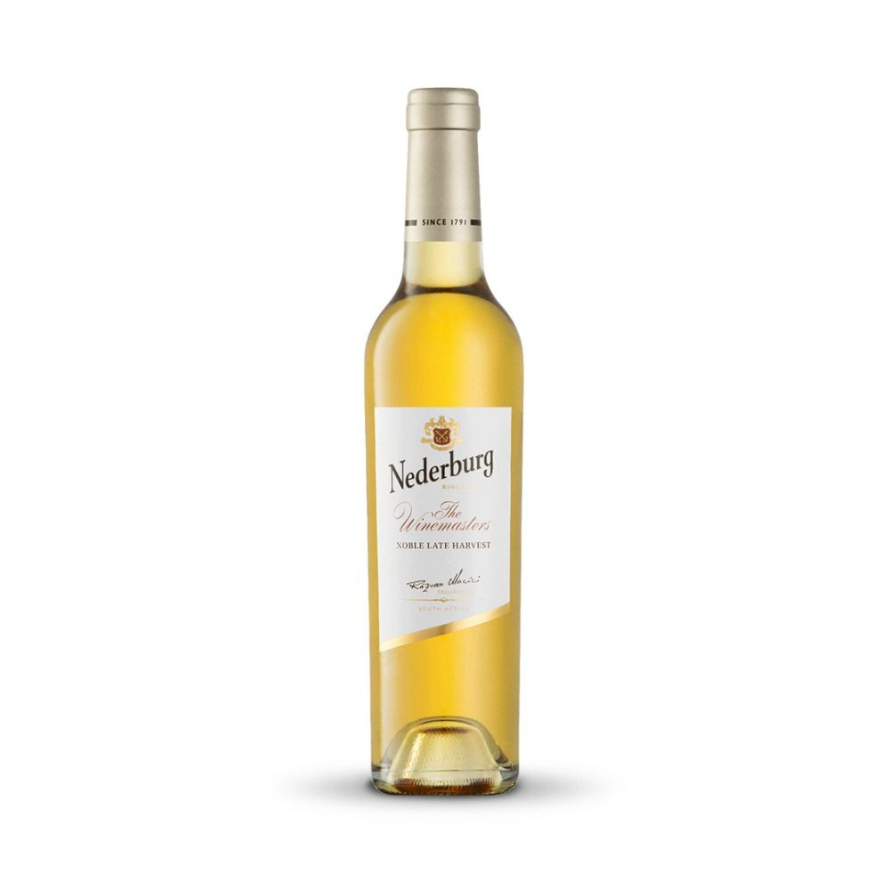 Nederburg Noble Late Harvest-Dessert wine is produced in South Africa.
