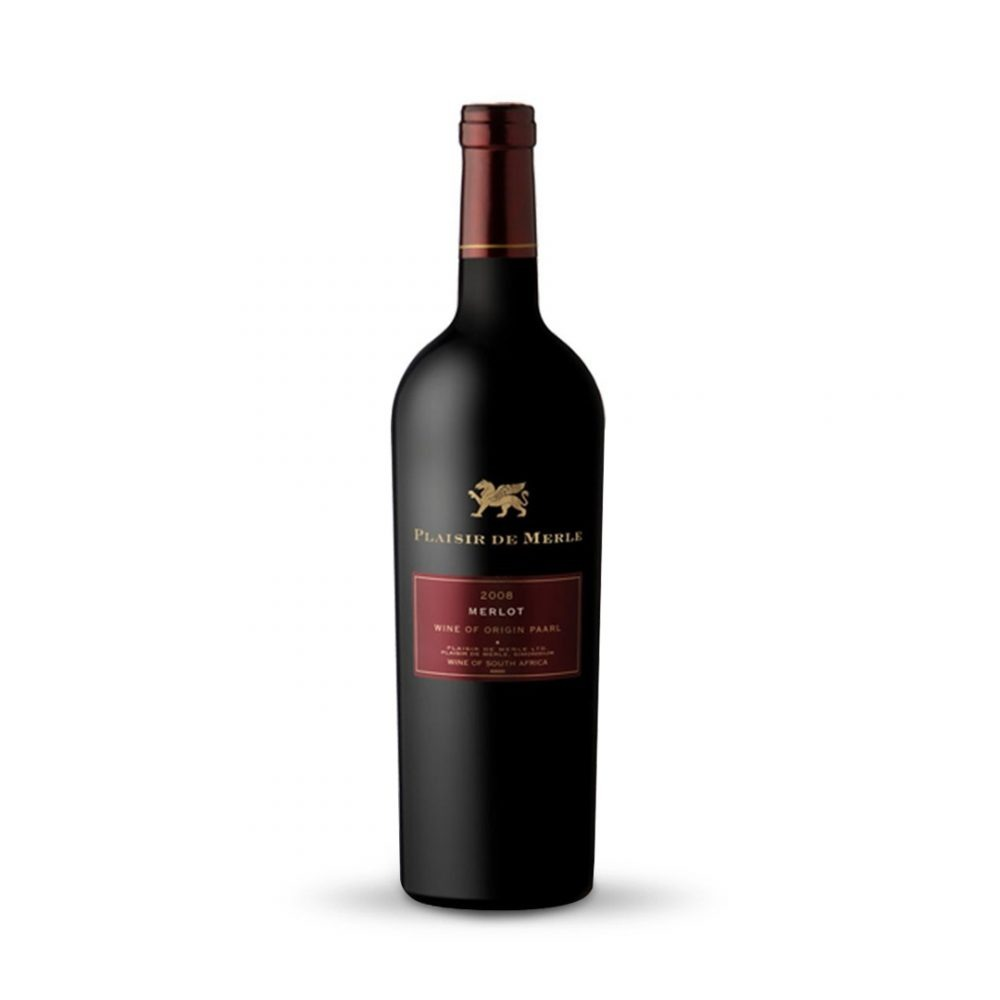 Plaisir de Merle Merlot is produced in South Africa.