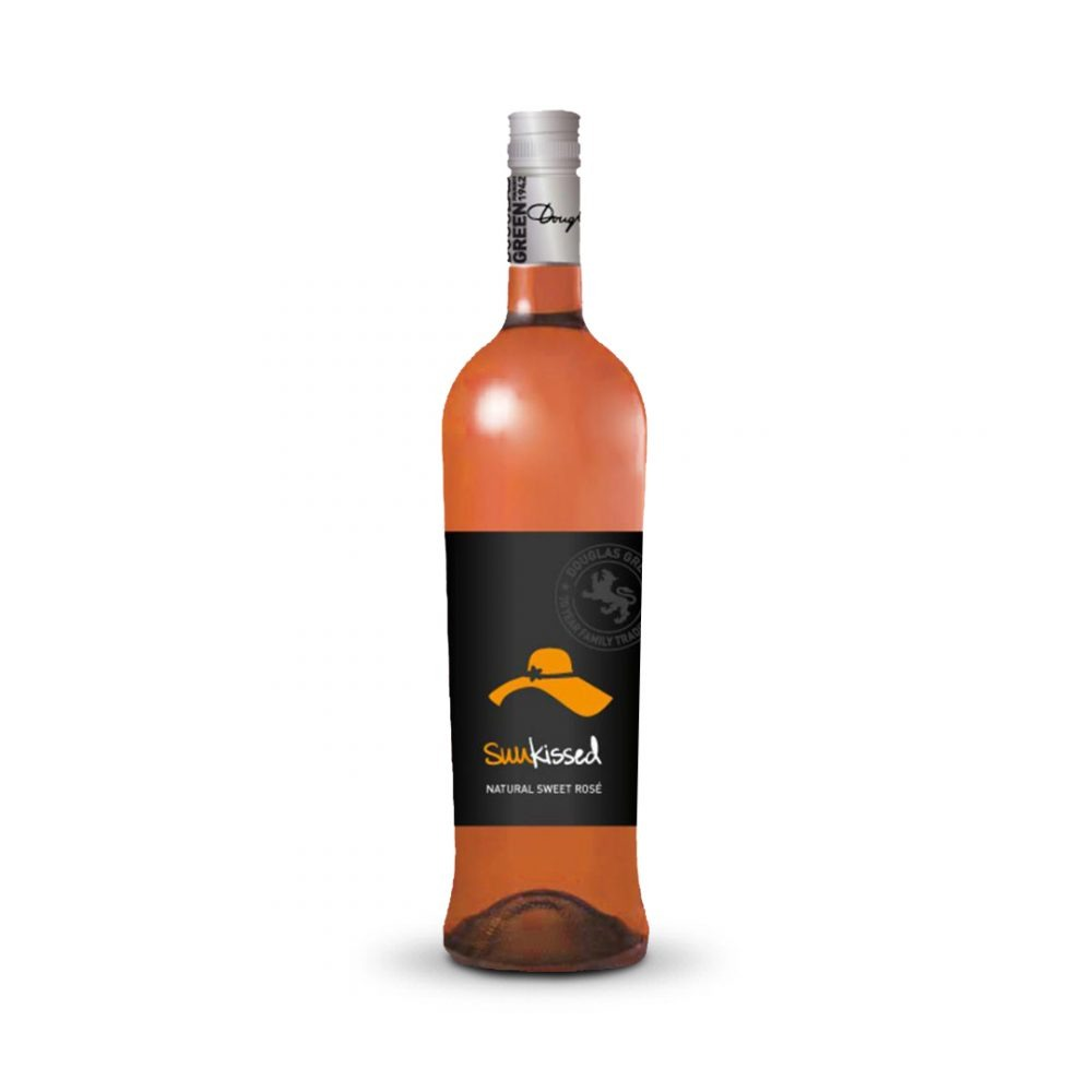Sunkissed Natural Sweet Rosé is produced in South Africa.