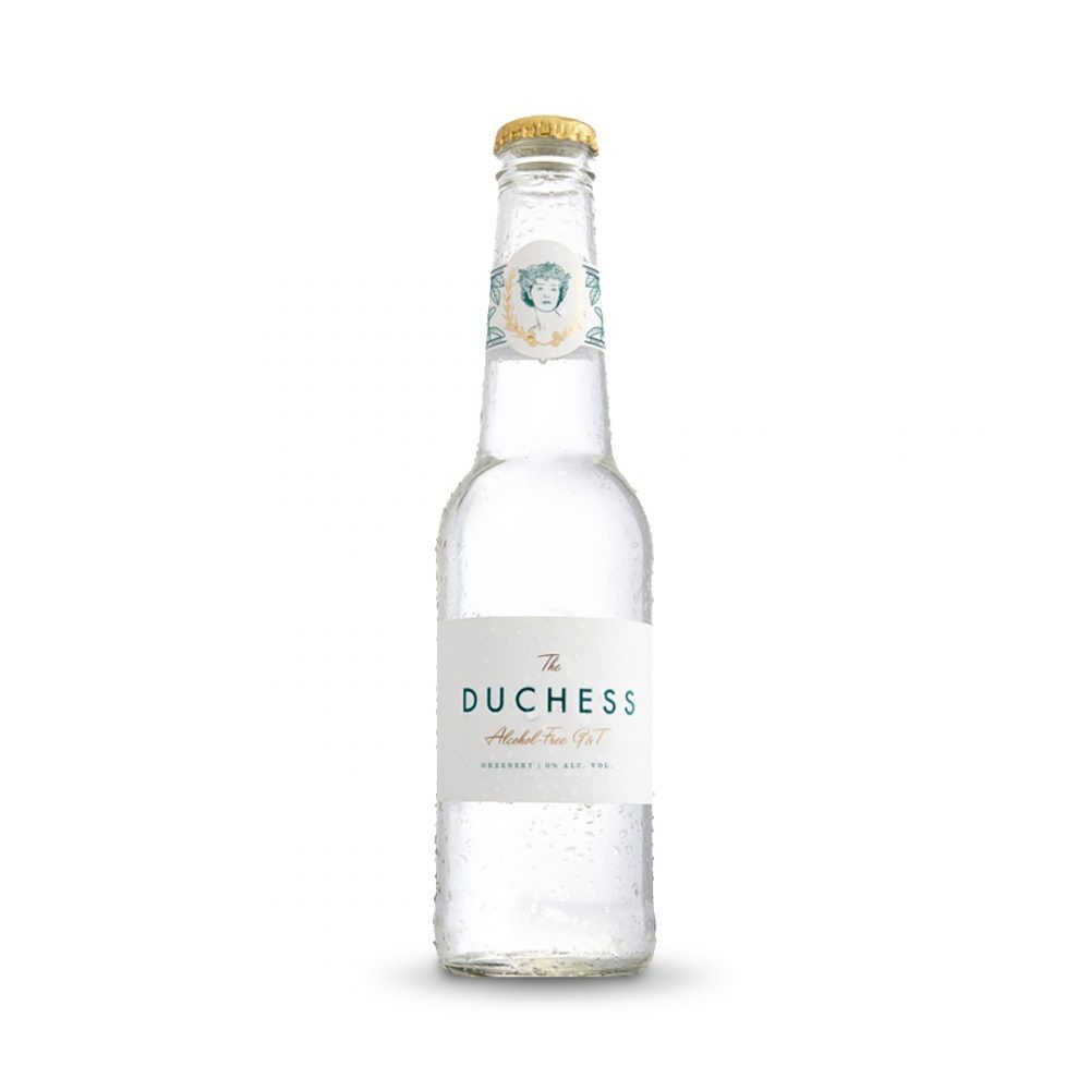 Duchess Greenery Virgin G&T is produced in South Africa.