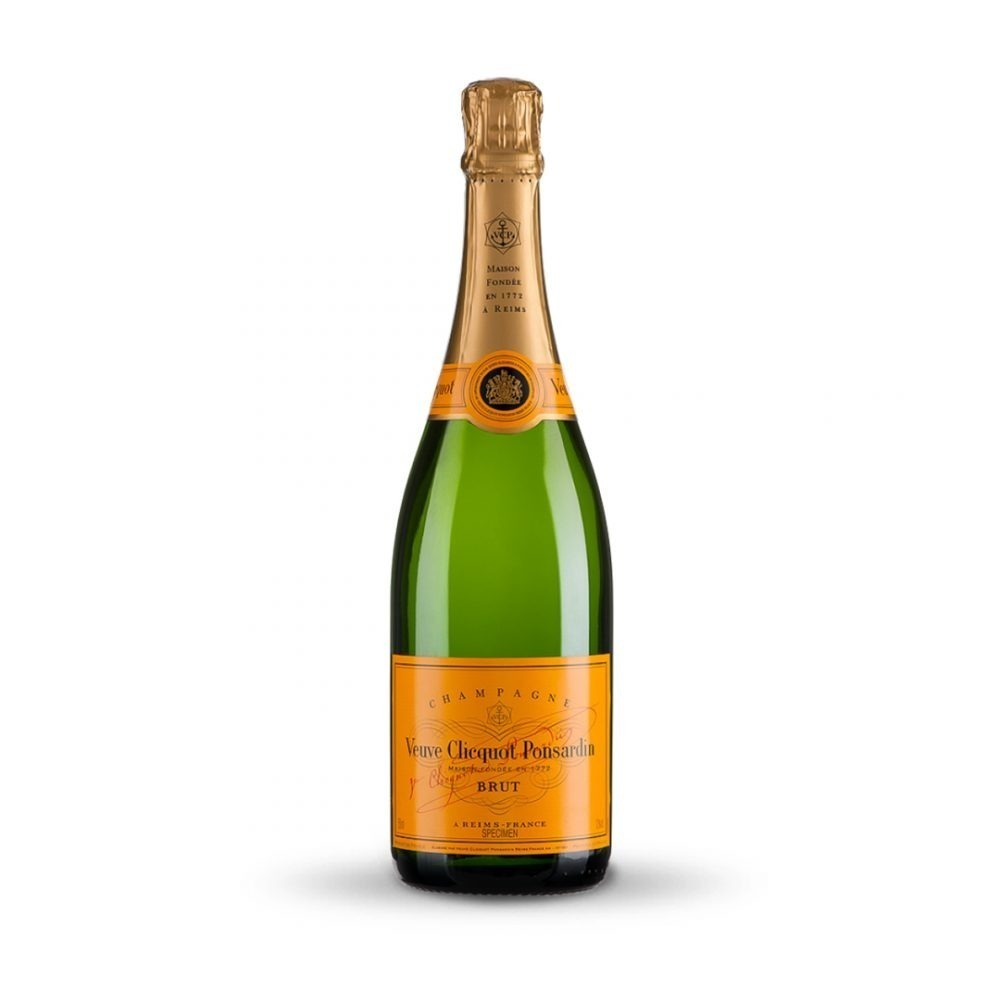 Veuve Cliquot Brut Champagne is produced in France.