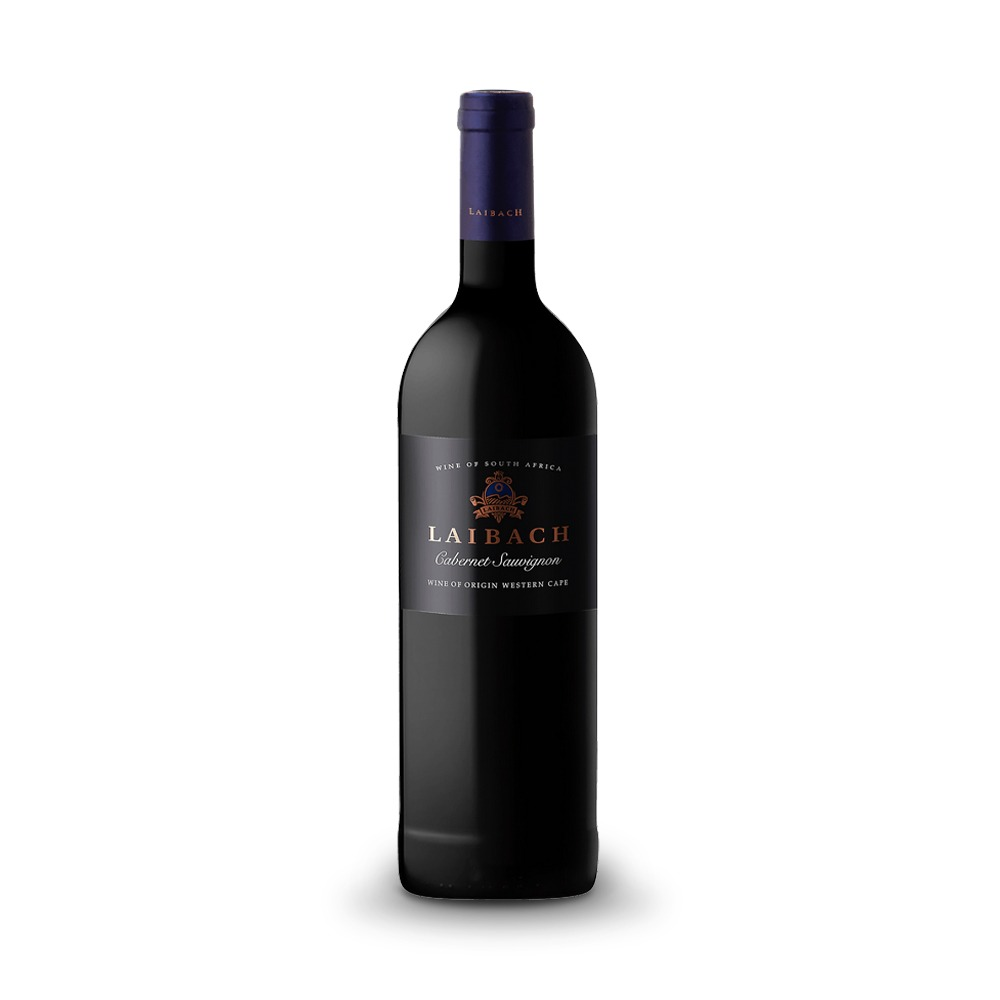 Laibach Cabernet Sauvignon is produced in South Africa.