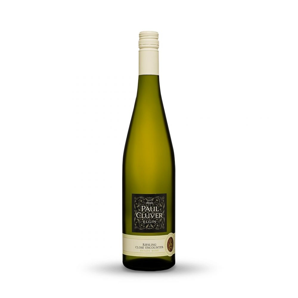 Paul Cluver Riesling is produced in South Africa.