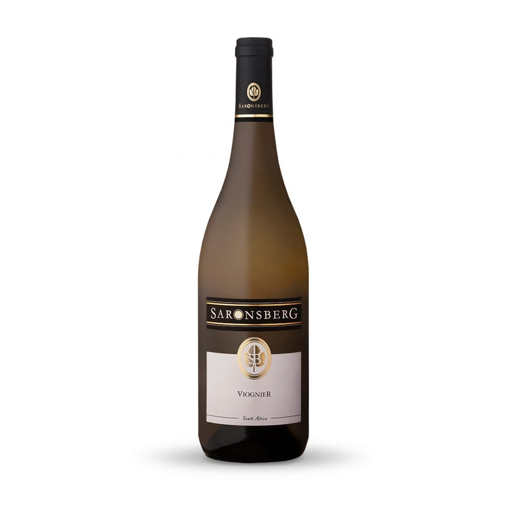 Saronsberg Viognier is produced in South Africa.