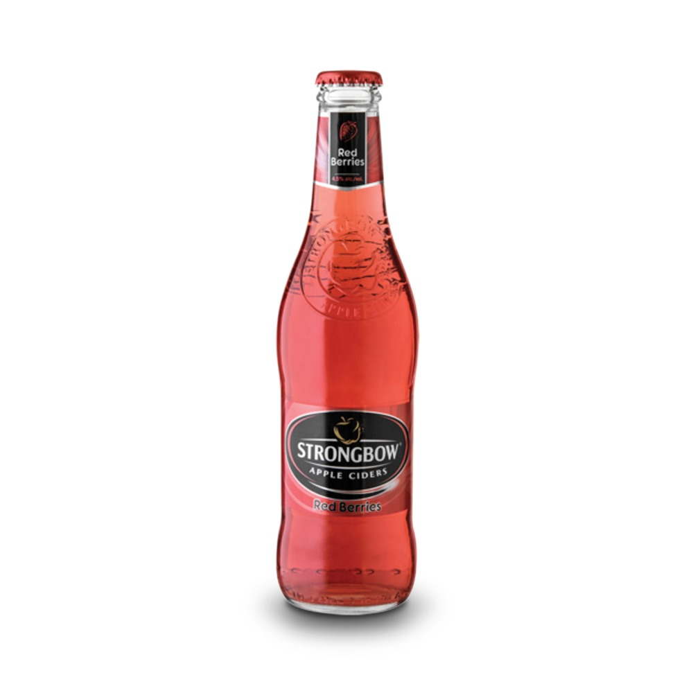 Strongbow Red Berry is produced in South Africa.