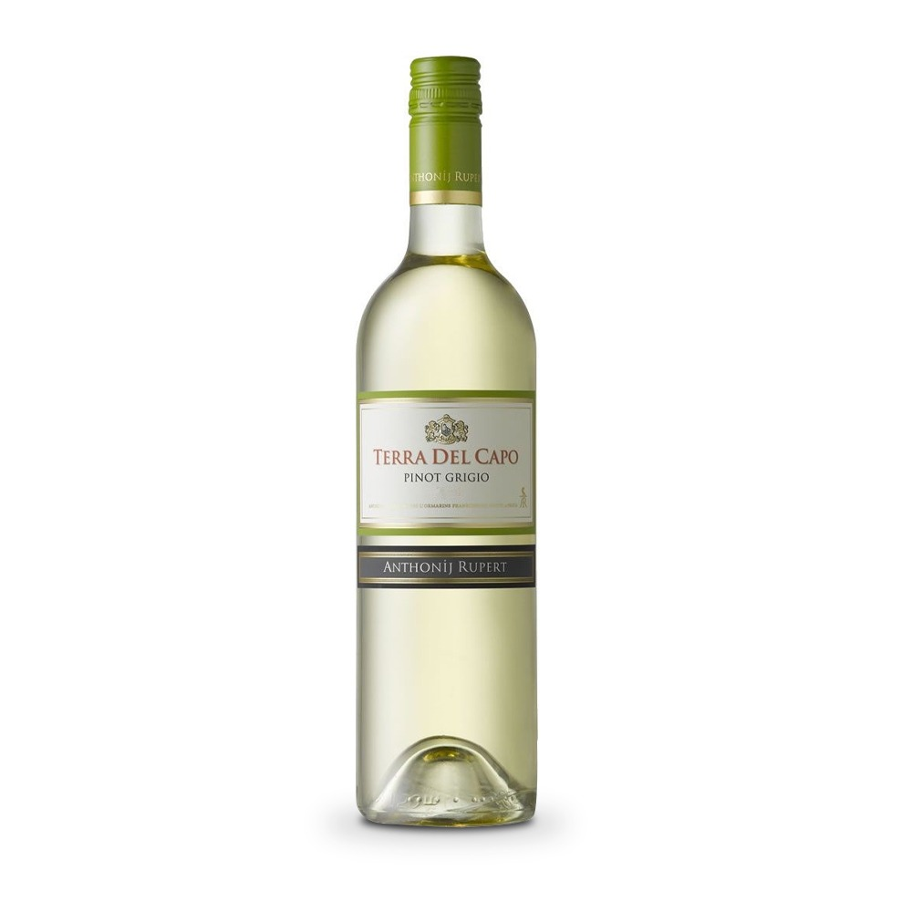 Terra del Cappo Pinot Grigio is produced in South Africa.