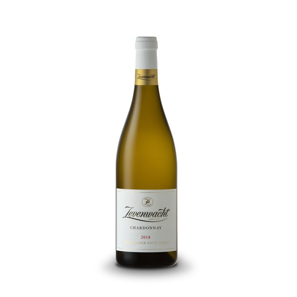 Zevenwhact Chardonnay is produced in South Africa.