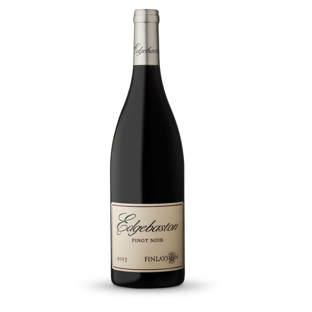 Edgebaston Pinot Noir is produced in South Africa.