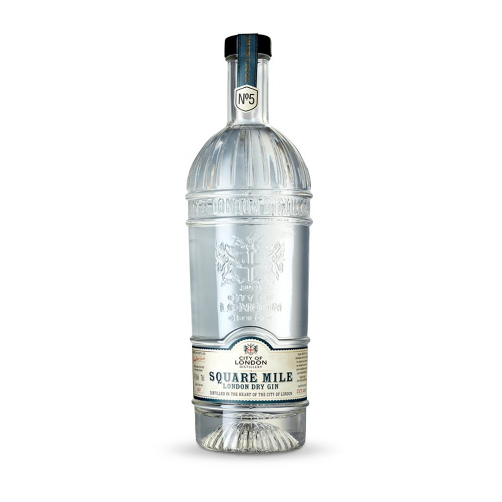 City of London The Square Mile gin is produced in England.
