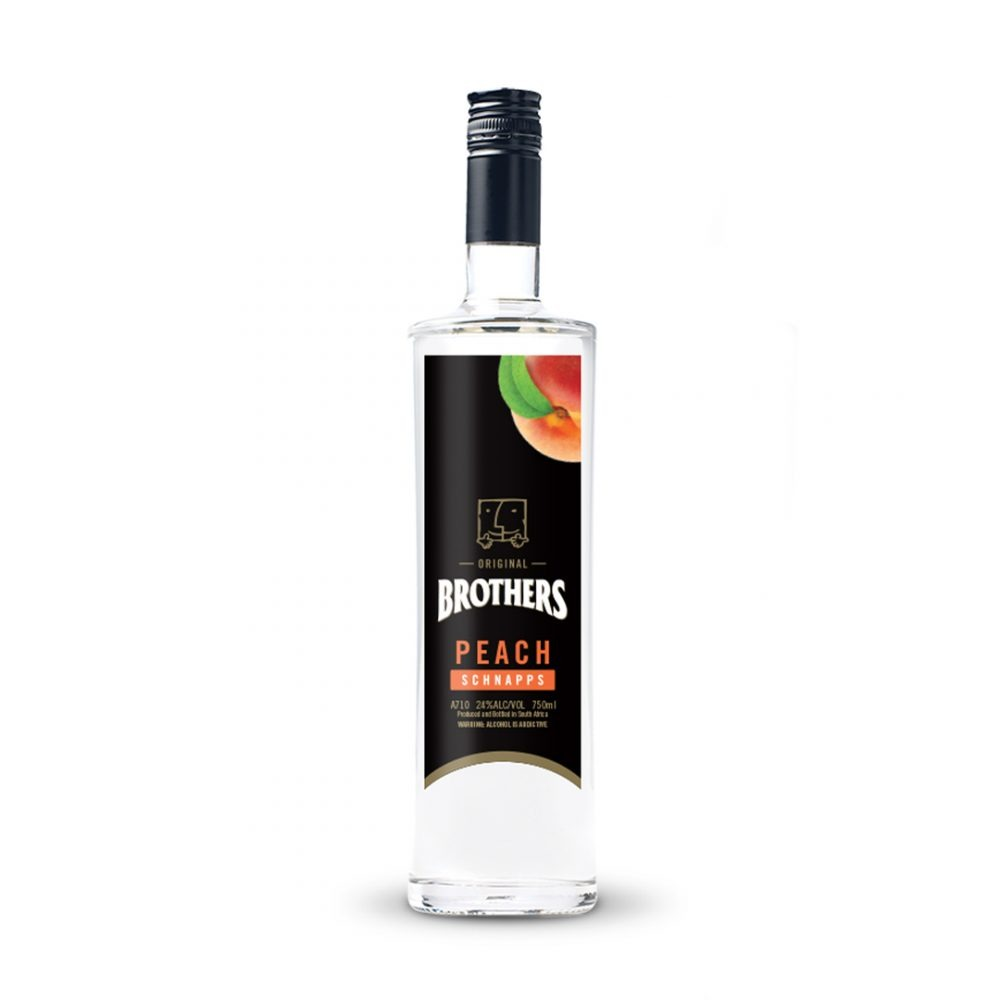 Brothers Peach Schnapps is produced in South Africa.