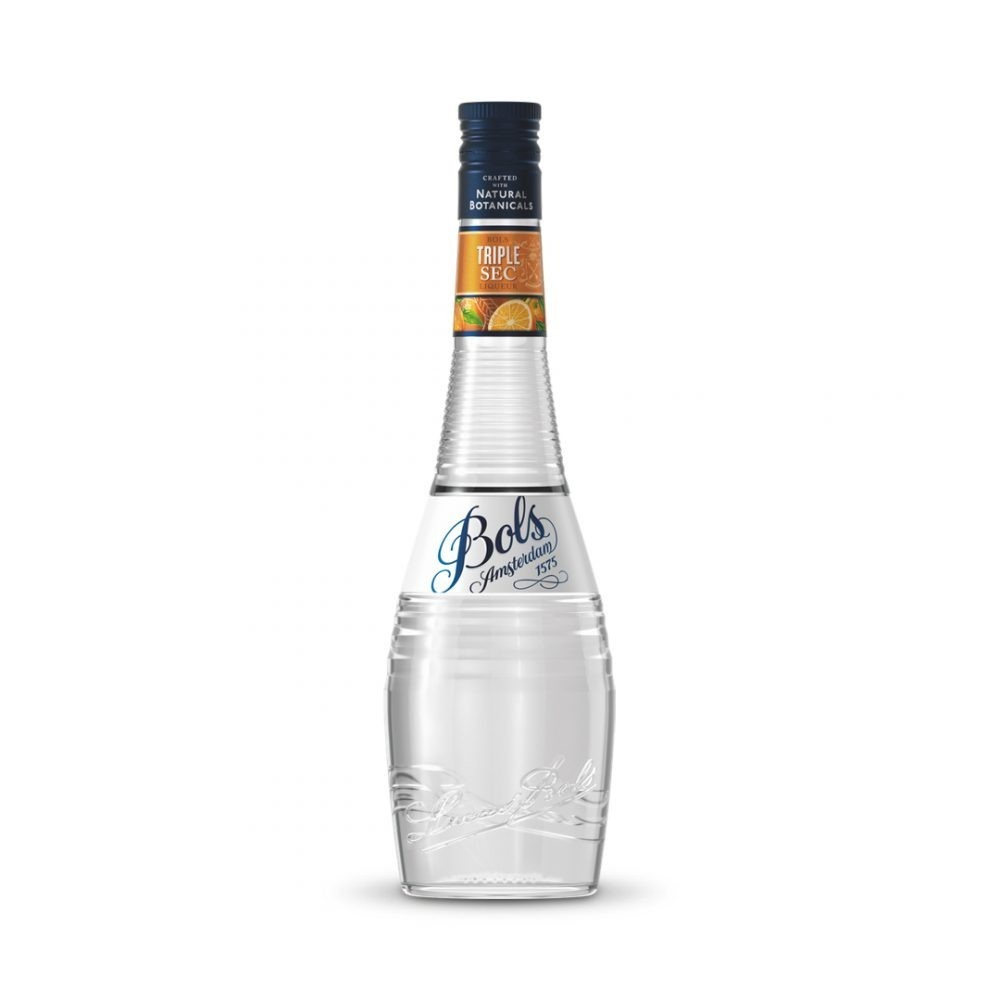 Bols Triple Sec liqueur is produced in the Netherlands.