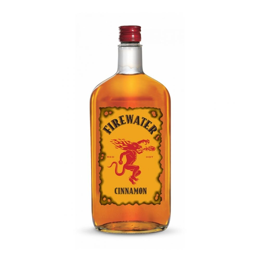 Firewater Cinnamon Whisky Liqueur is produced in America.