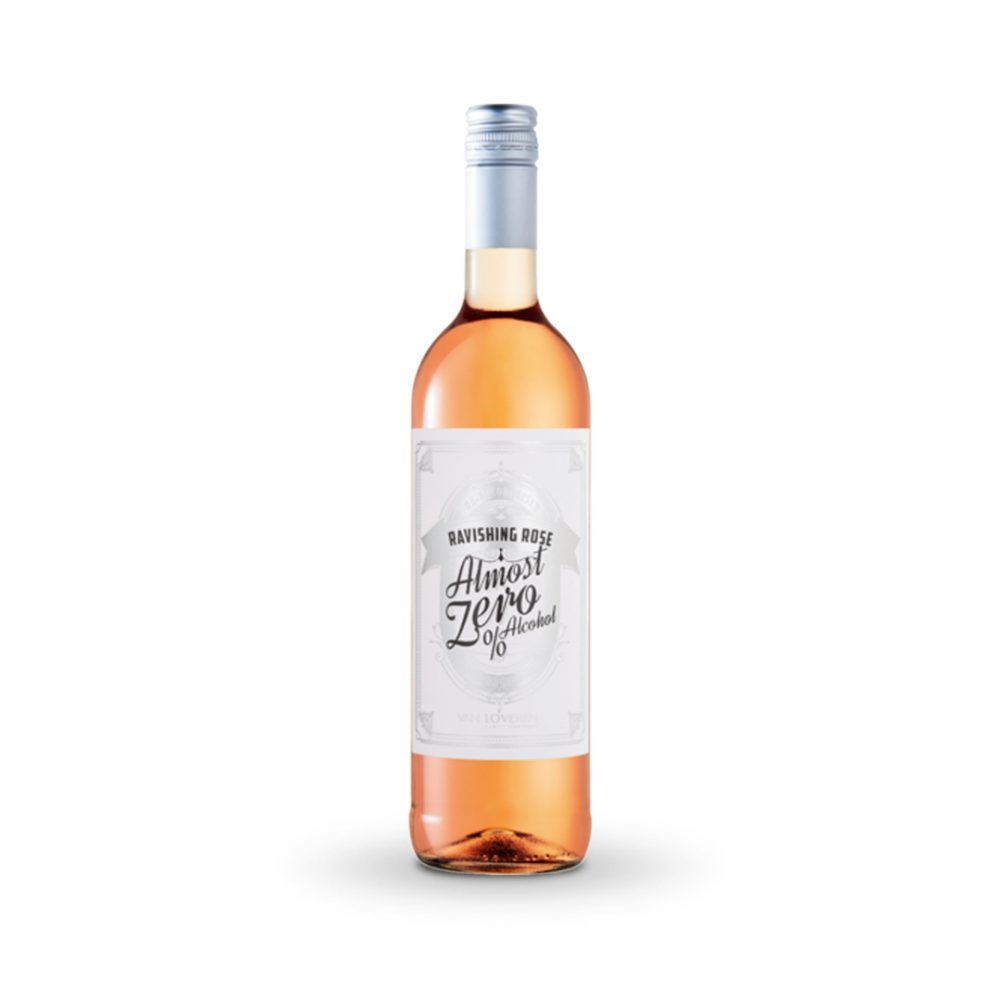 Van Loveren Almost Zero Ravishing Rose is produced in South Africa.