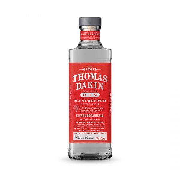 Thomas Dakin gin is produced in England.