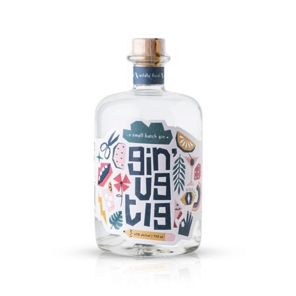 Ginugtig Wildy Floral gin is produced in Cape Town.